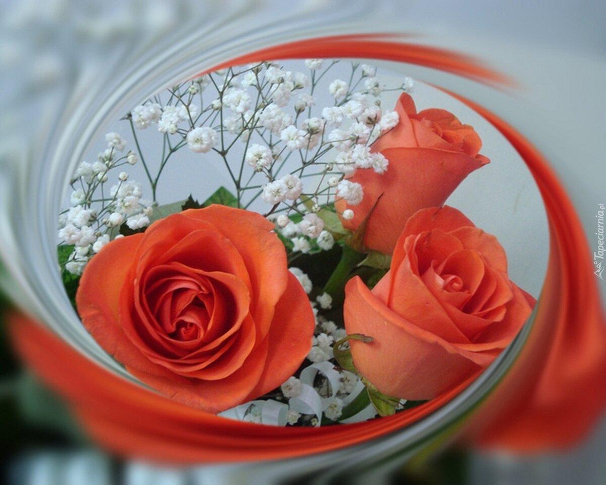 Анимационная картинка цветы подруге есть разновидности