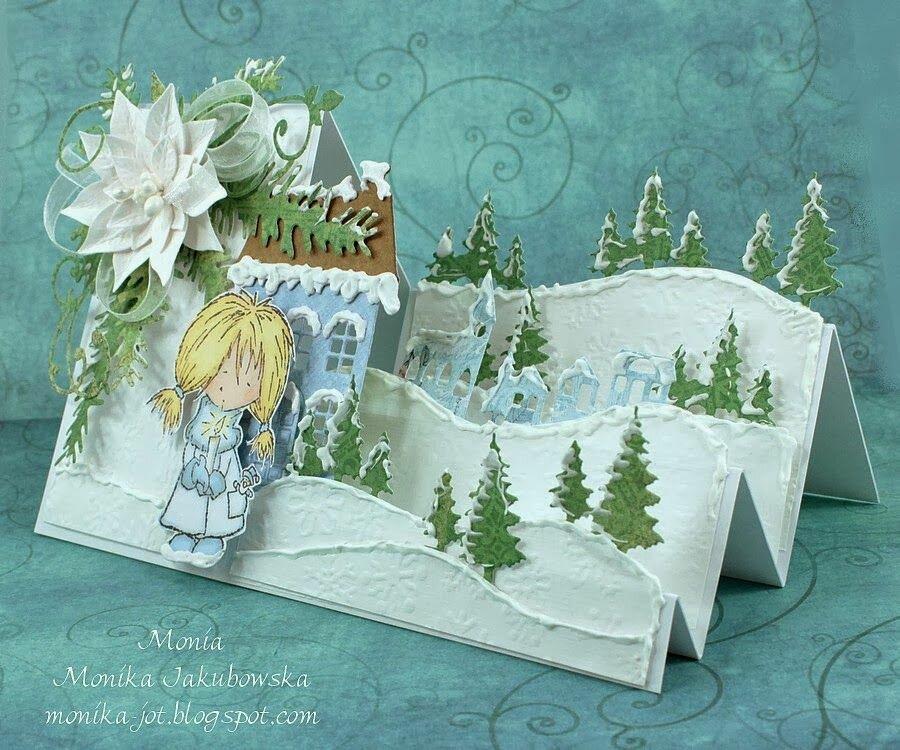 рождественские открытки схемы скрапбукинг слезы