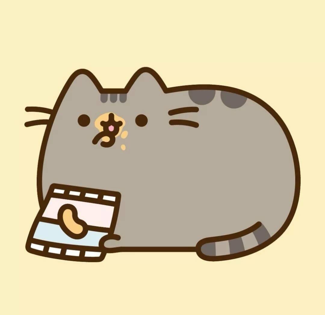 Кот пушин и его друзья картинки для срисовки