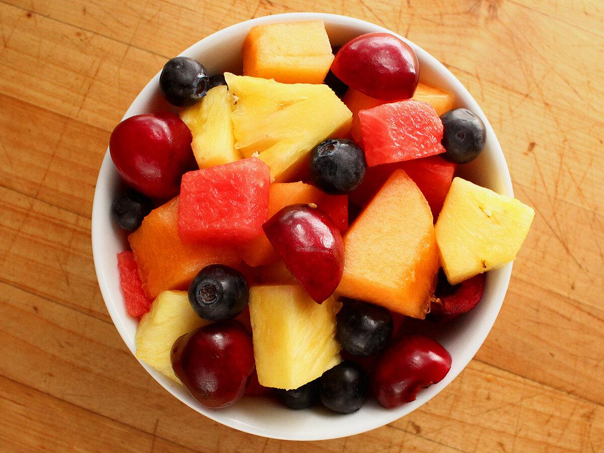Картинки салаты фруктовые