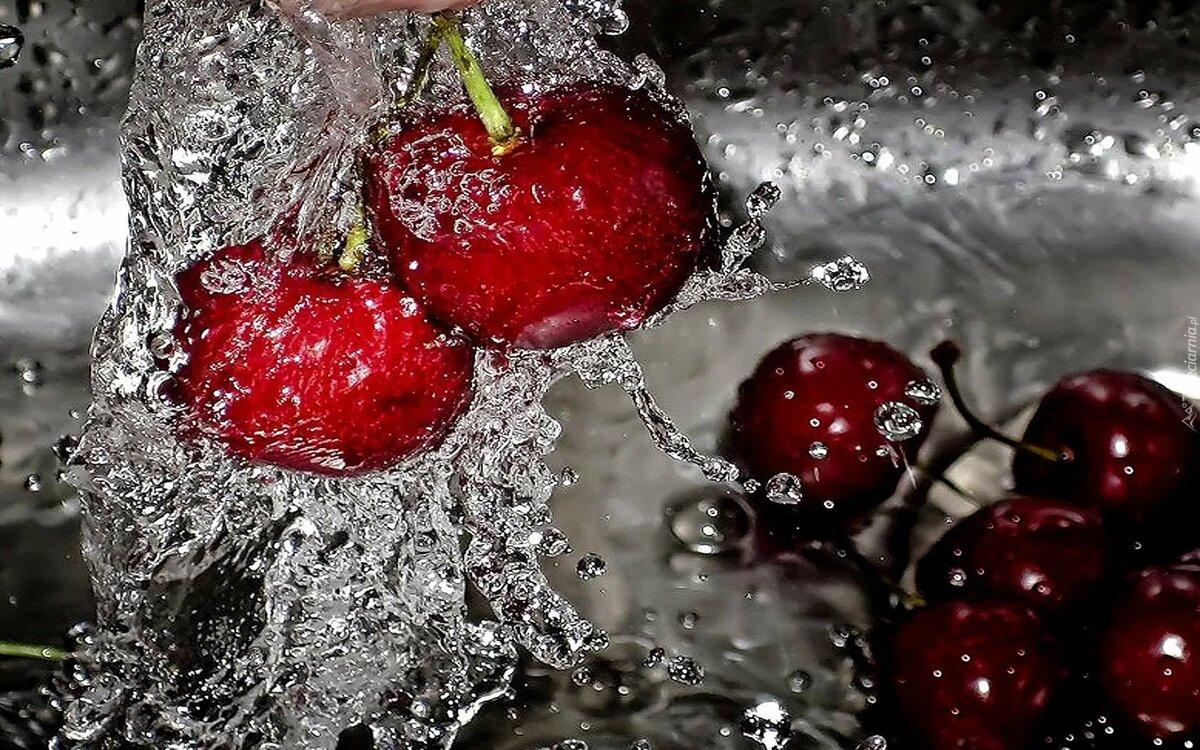 Картинки фрукты и ягоды и лед