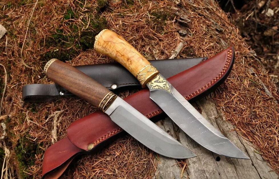 имеет картинка охотничьего ножа крупные