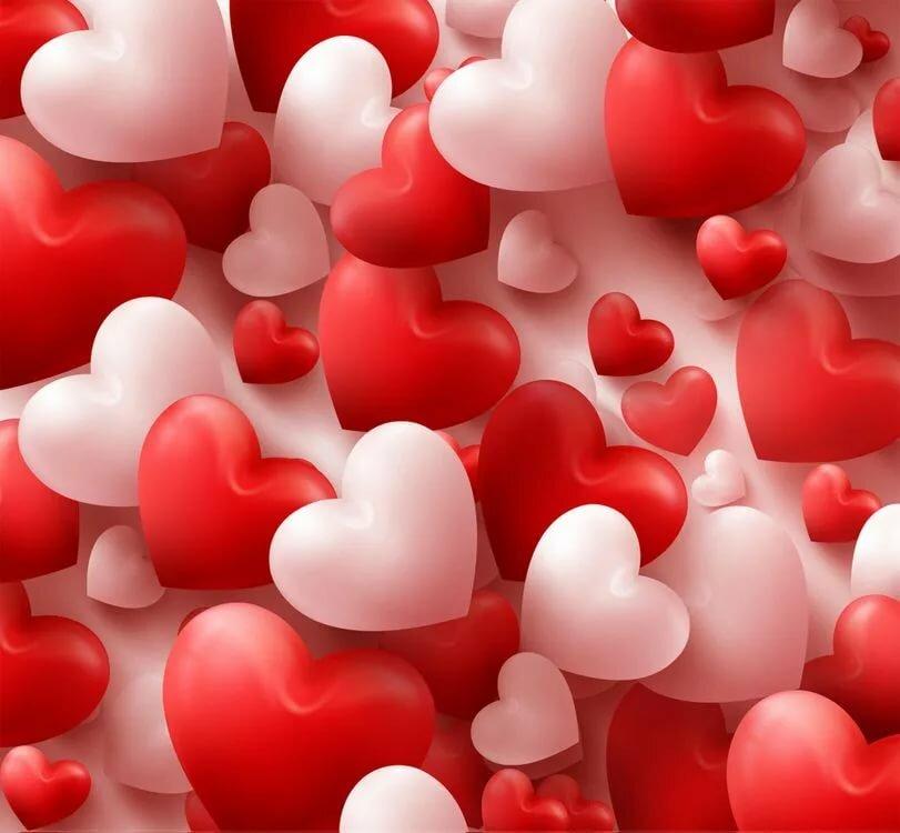 Сам, картинки красивые сердечки