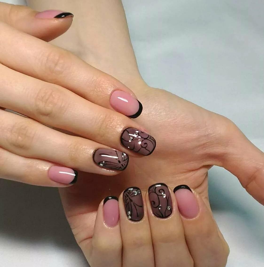 Фотогалерея дизайна коротких ногтей
