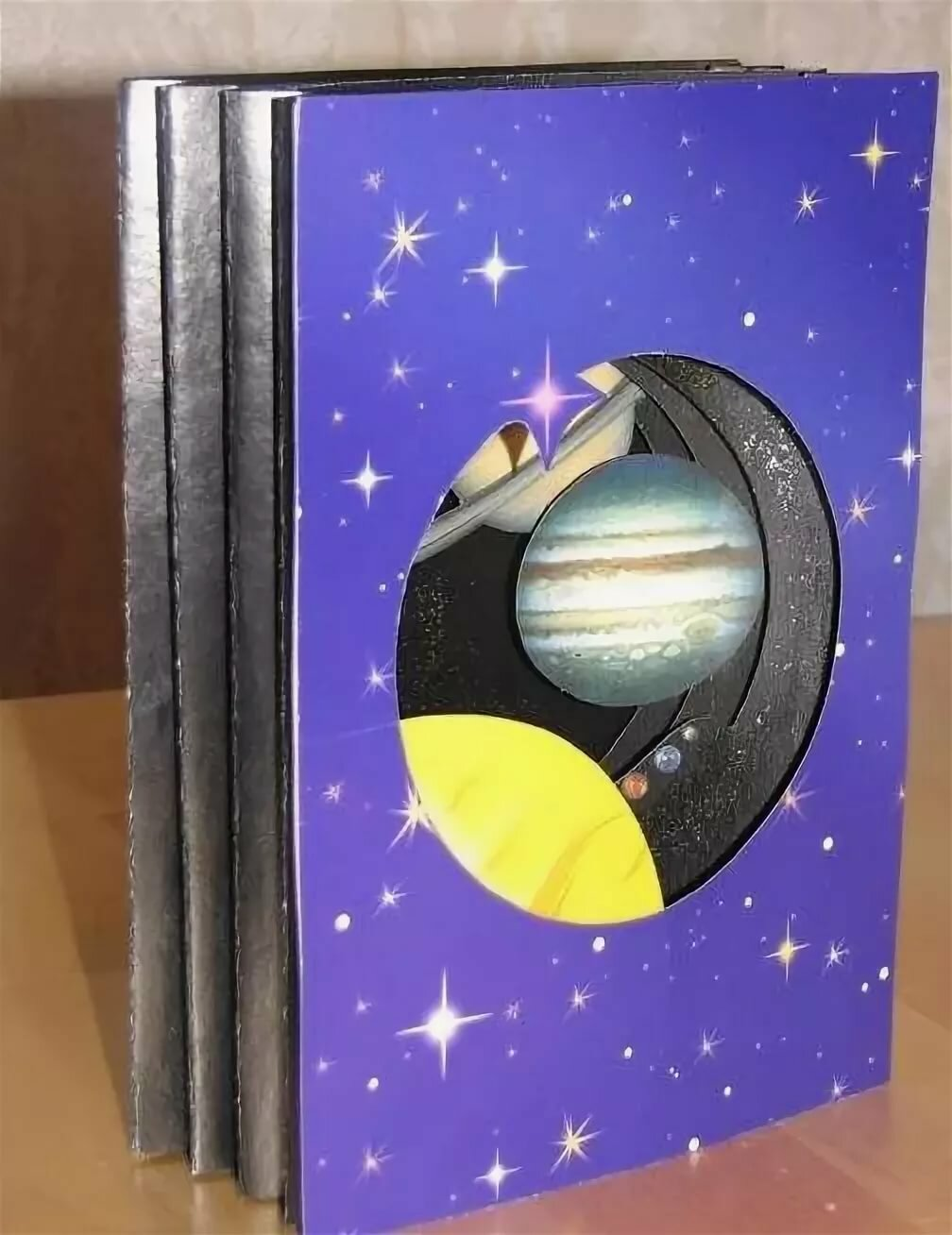 Открытки на космическую тематику своими руками для детей