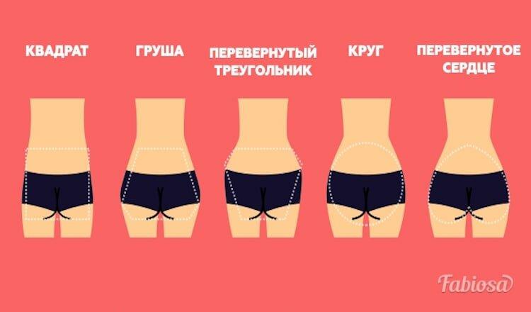 разновидности женских жоп - 11