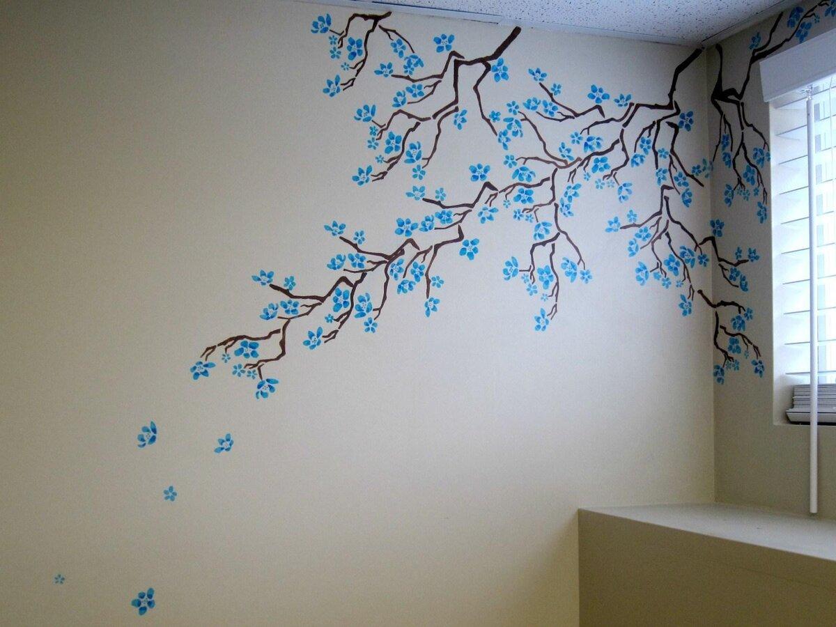 как нарисовать картинки на стене всегда говорила