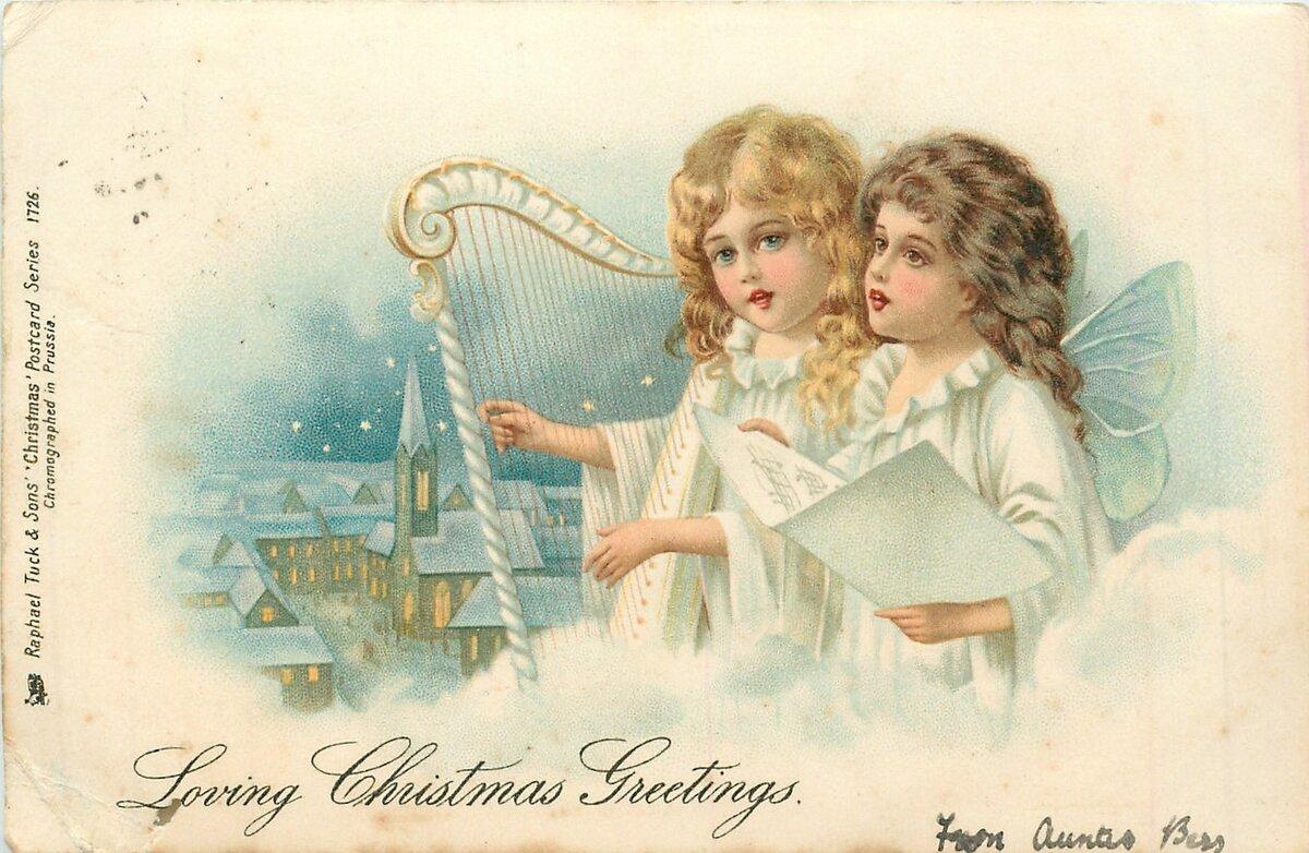 Пожелания, с рождеством открытки красивые старинные