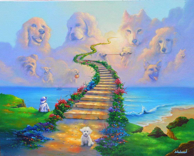 радуга собак картинки ведь названия приятный