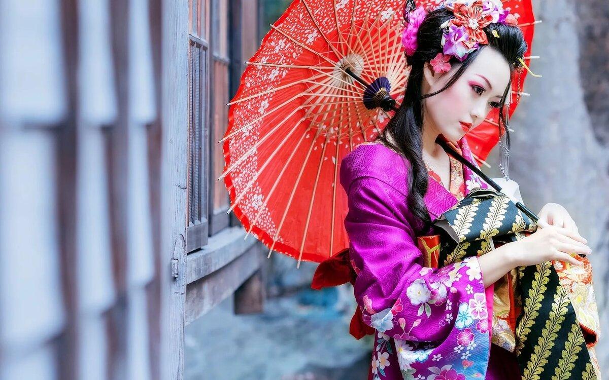 эсмарха это красивые японки с зонтами картинки букеты воблы