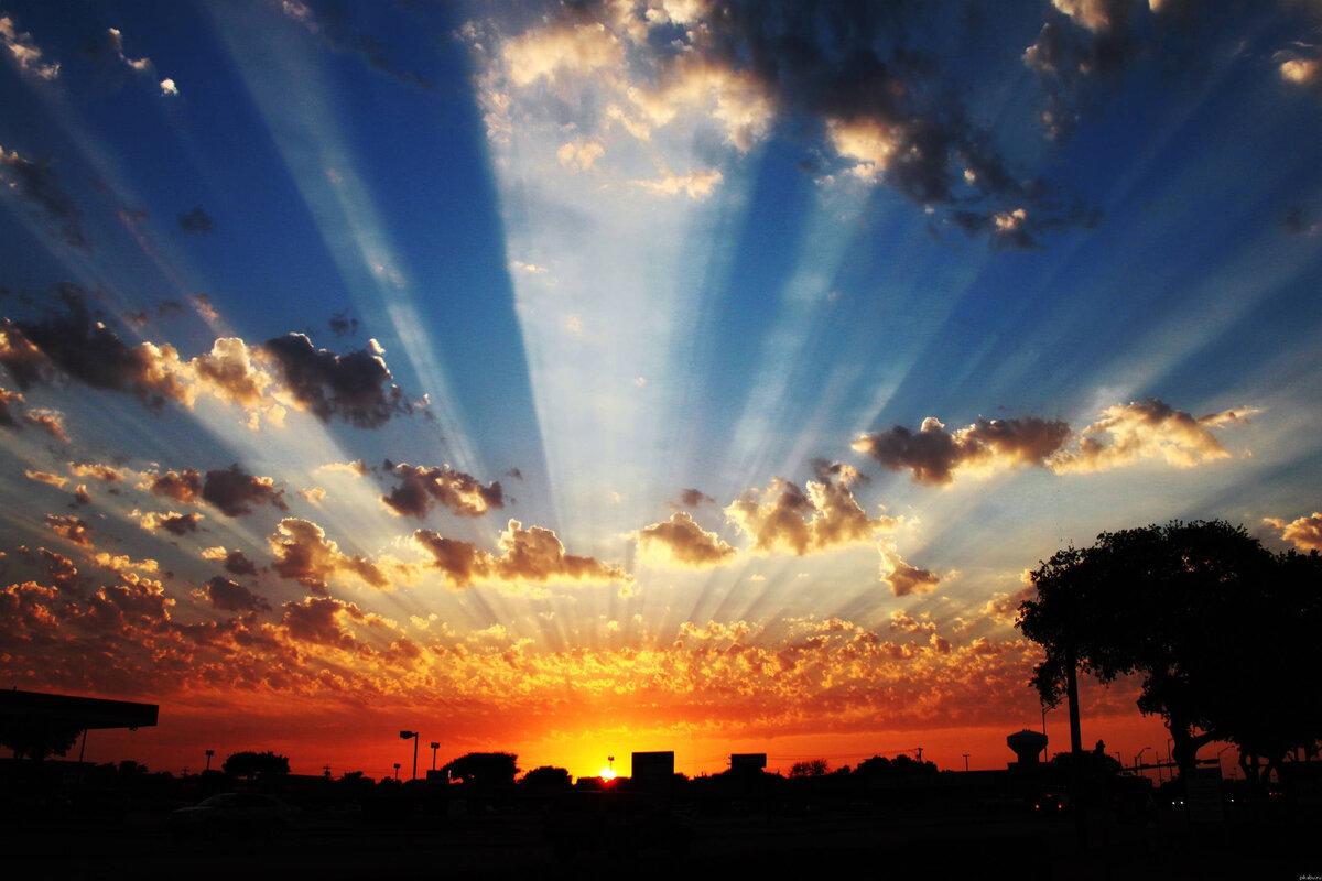Картинка рассвет солнца