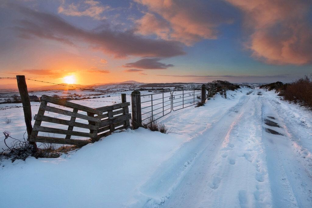 Днем, картинки ирландия зимой