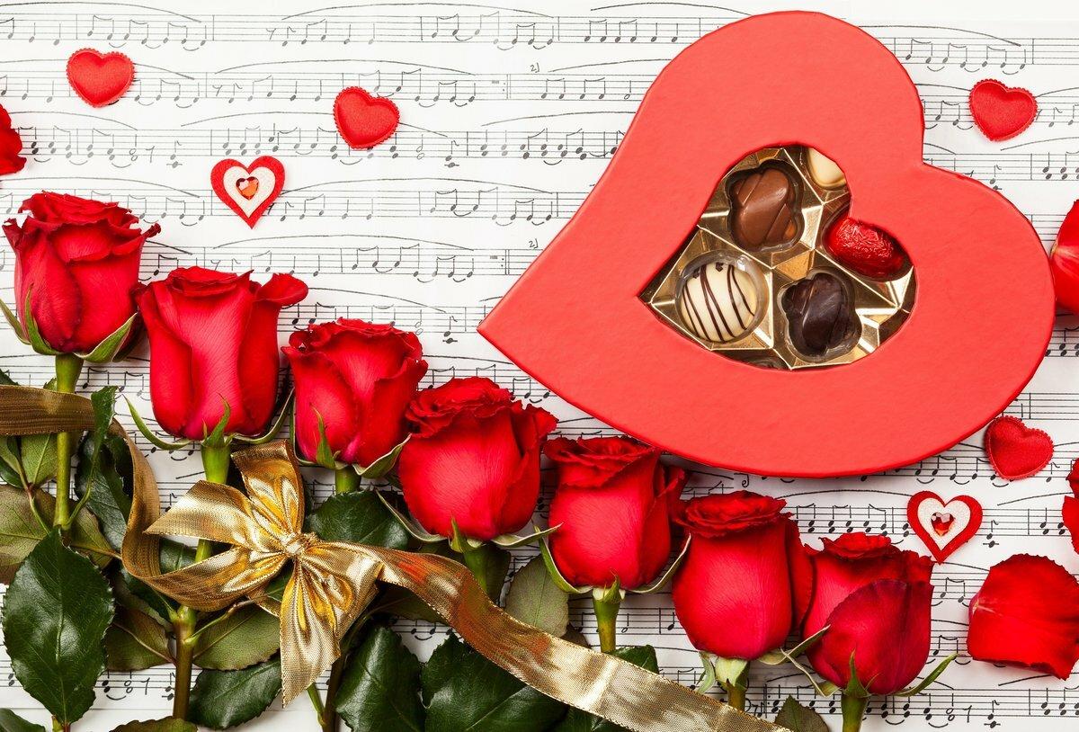 Музыкальная открытка о любви к девушке