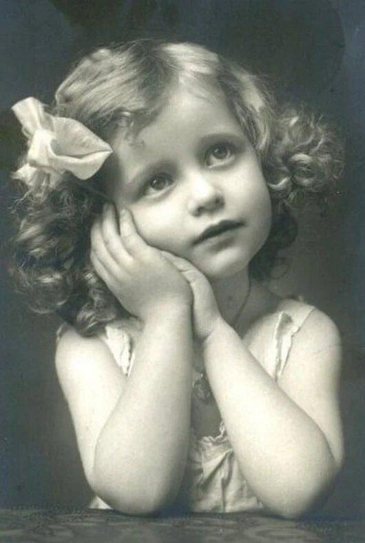 Ретро открытки фото детей