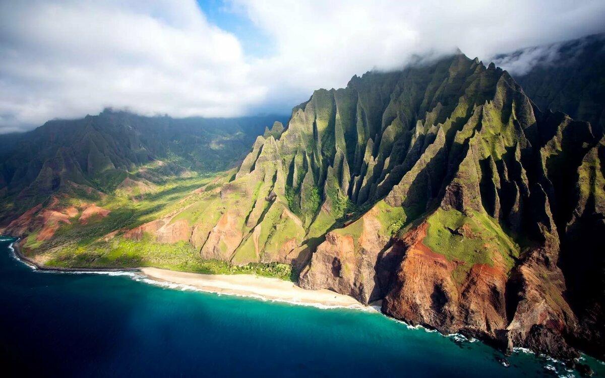 уверены, что остров кауаи гавайи фото цветущие