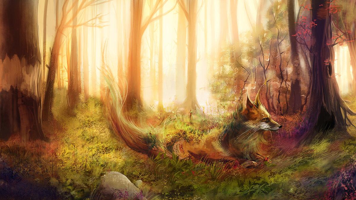 Фантастические картинки осень