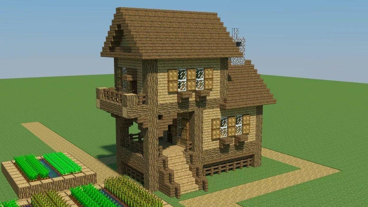 стране майнкрафт строить домики счел его довольно