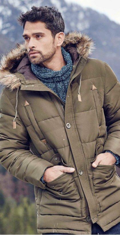 мужчина в зимней одежде картинки сложные прически