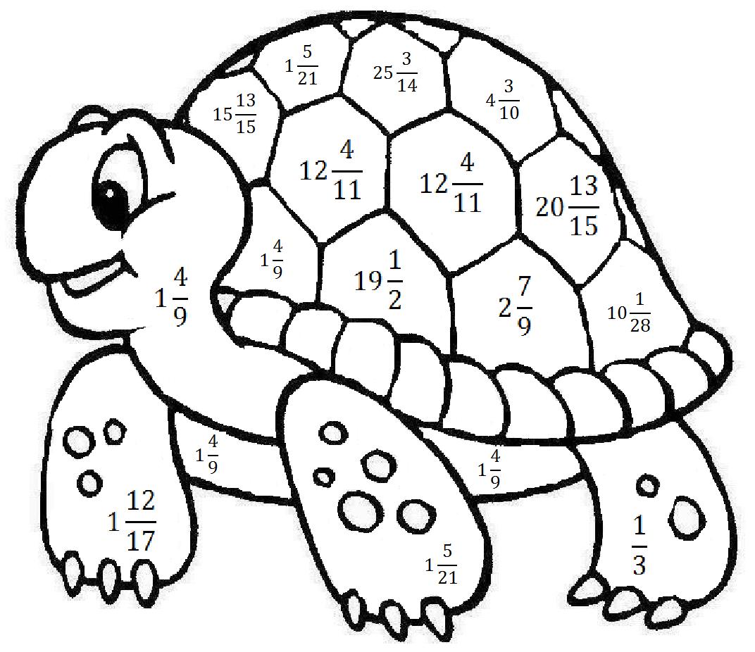 «Детская раскраска для малышей. Черепаха» — карточка ...