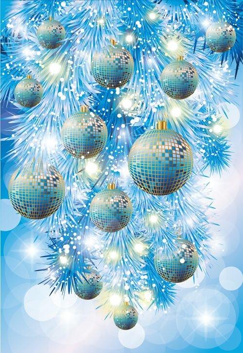 Вертикальные картинки новогодние