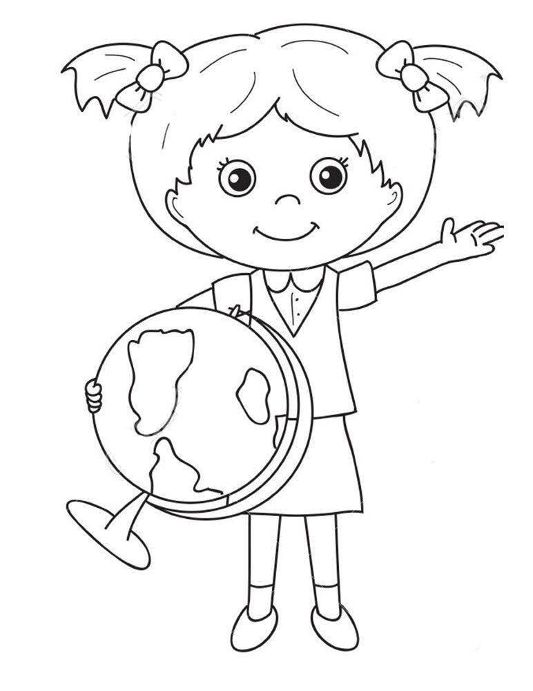 Картинка на школьную тему для детей карандашом