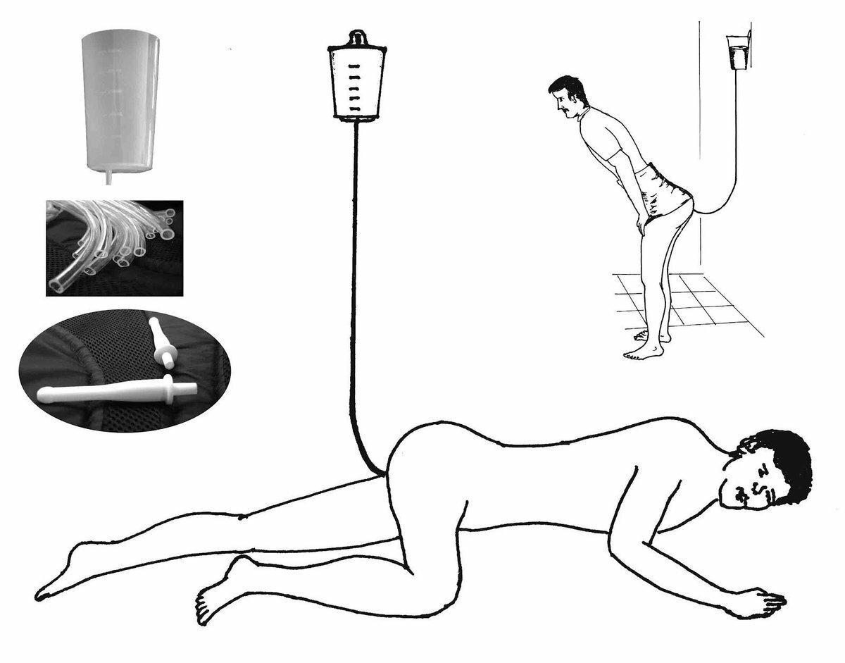 Рот как почистить анал перед сексом
