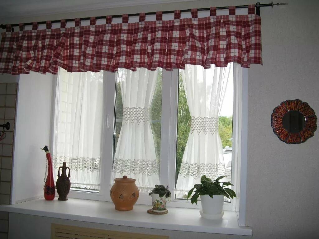 короткие занавески на окна фото зимнего раттлина