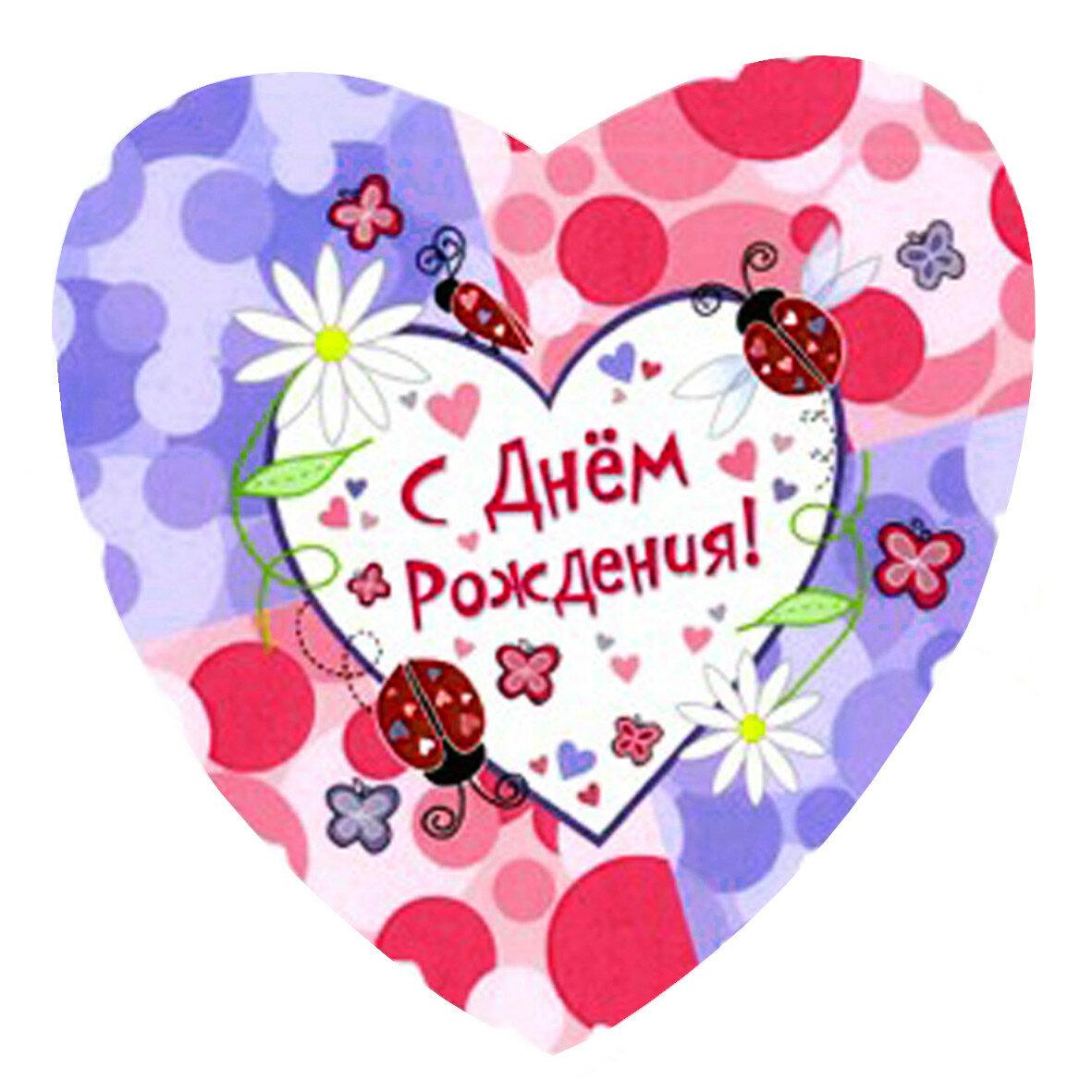 Нарисовать, открытка с днем рождения в форме сердечка