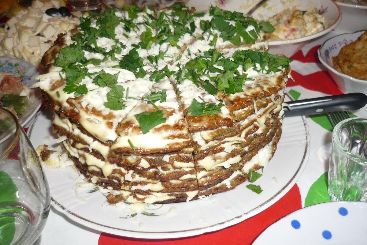 куриный торт рецепт с фото готовим дома пластиковые