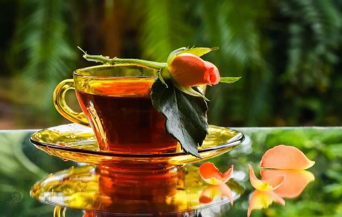 Открытки с добрым.утром чай