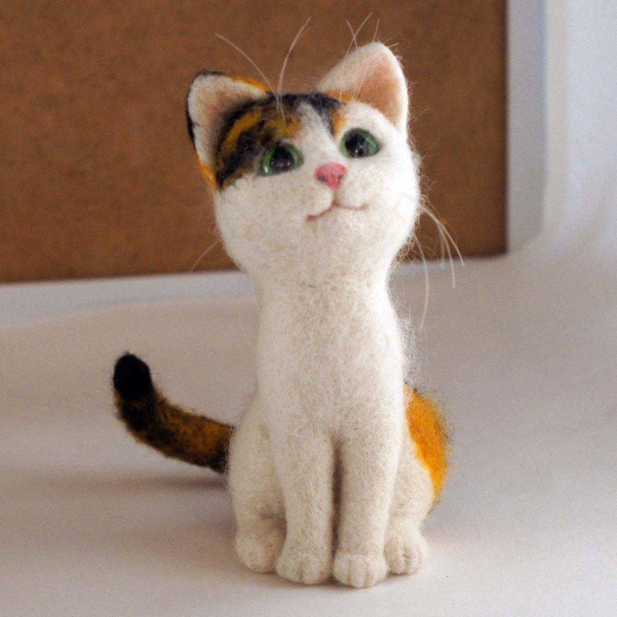 коты в стиле фелтинг фото