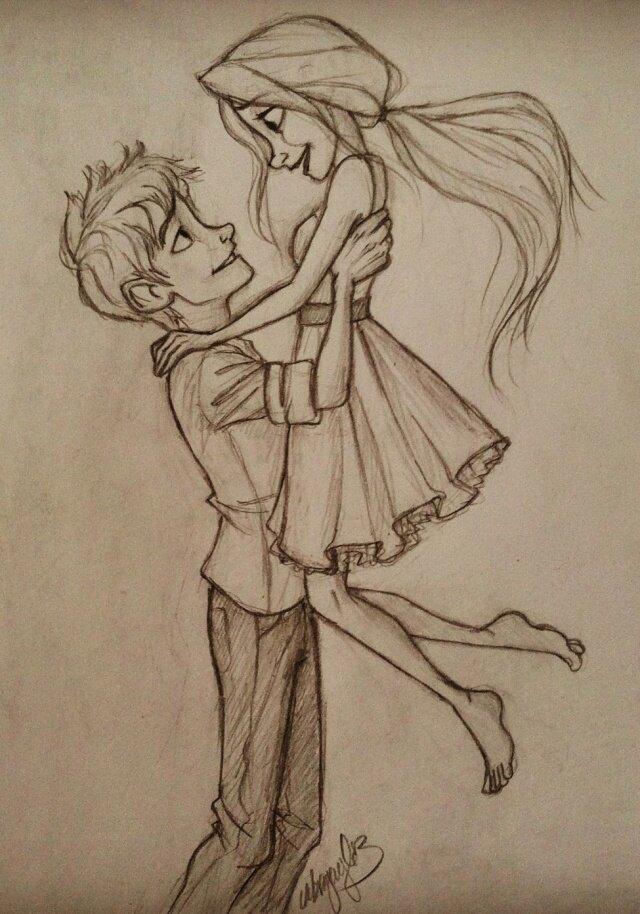 Картинки для срисовки карандашом прикольные про любовь, день