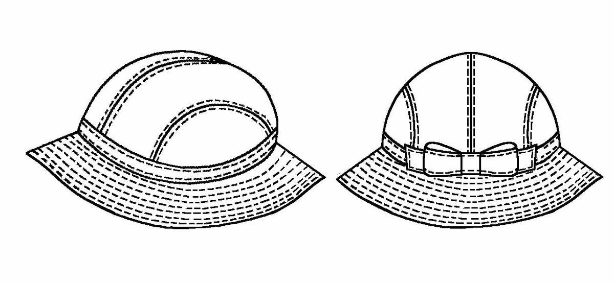 головные женские уборы шляпки картинки раскраски российская фигуристка
