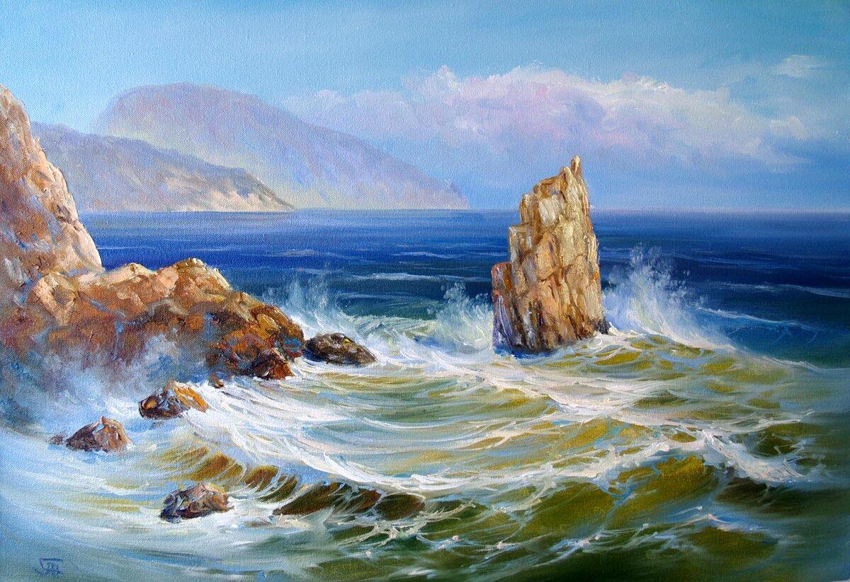 Морские пейзажи картинки художников