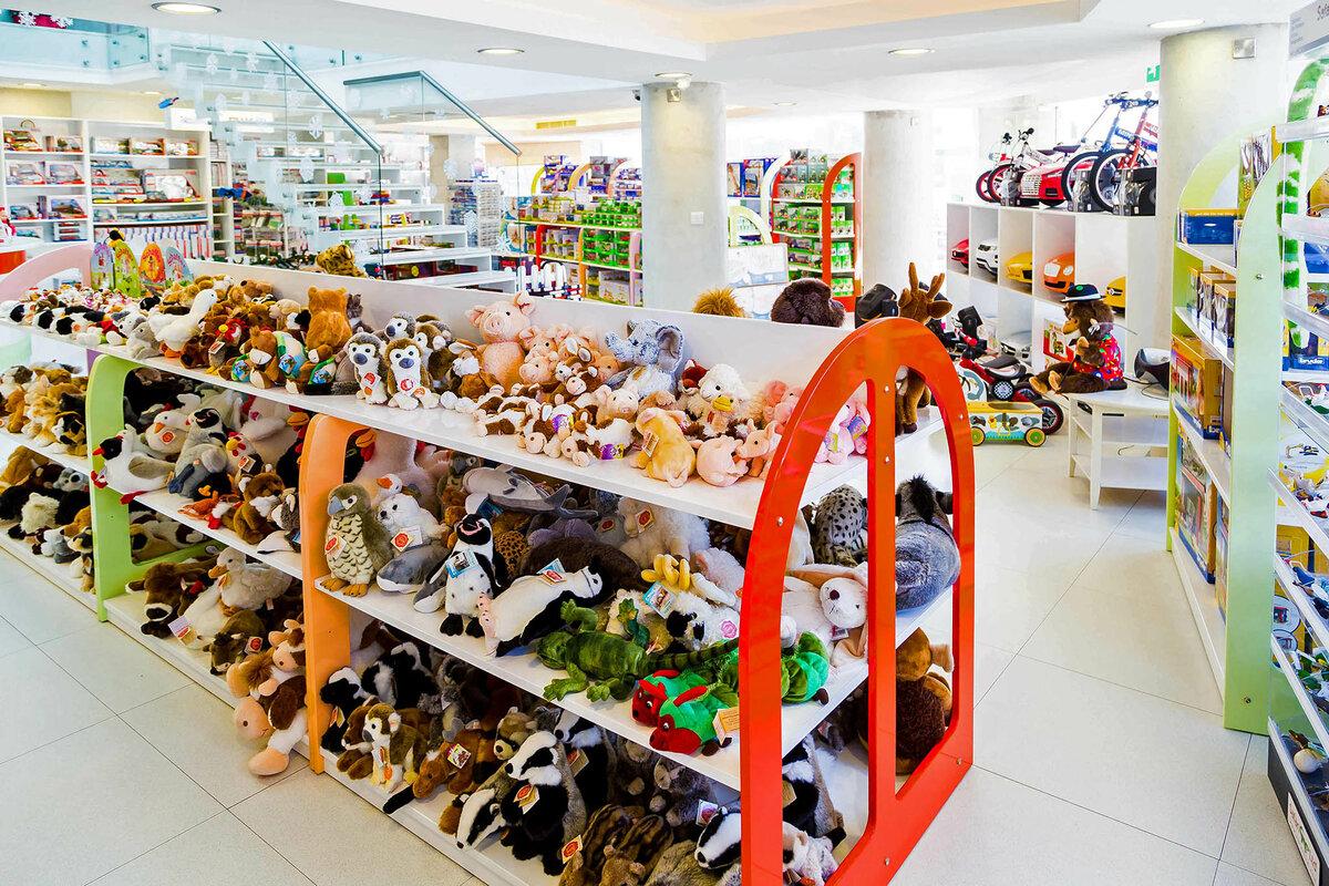 Игрушки в картинках в гипермаркет