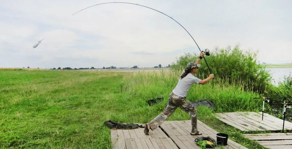 Дальние забросы на рыбалке