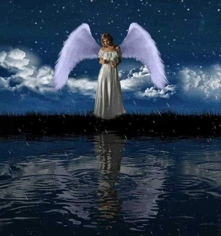 Картинка анимация ангелы