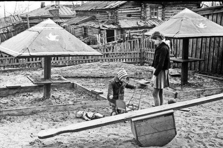 А у нас во дворе. 1960е, Барнаул