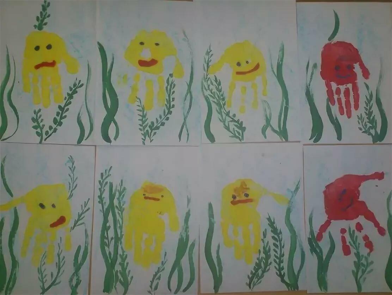 Рисунки для средней группы