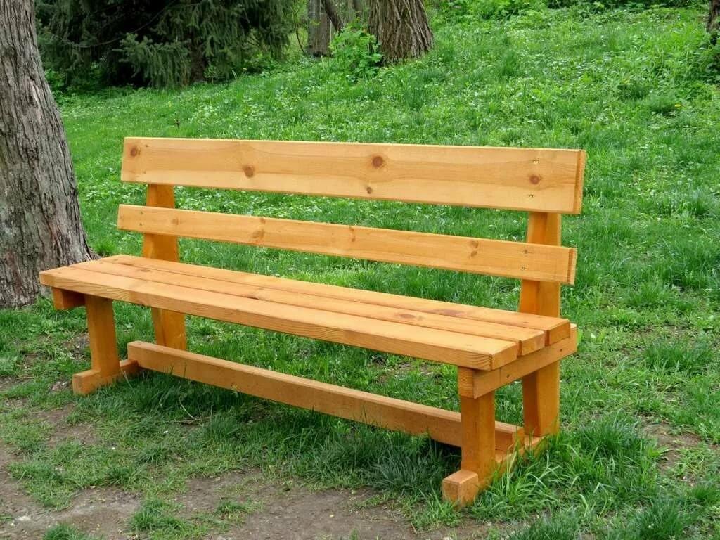 Картинки скамейки из дерева