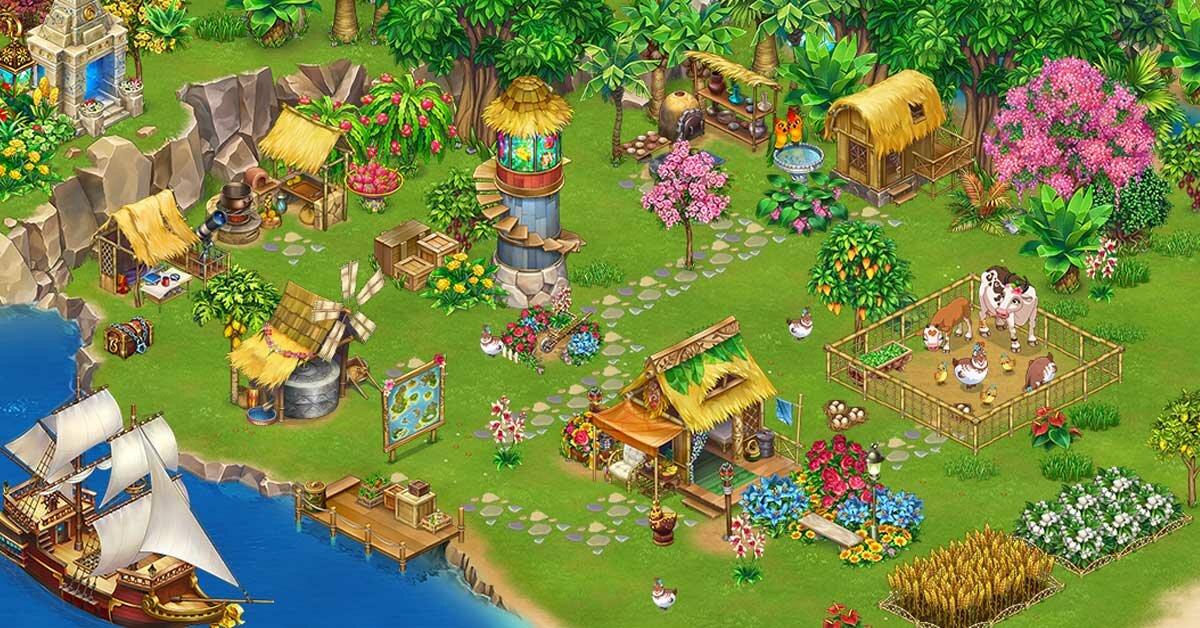 Тропическая ферма картинки