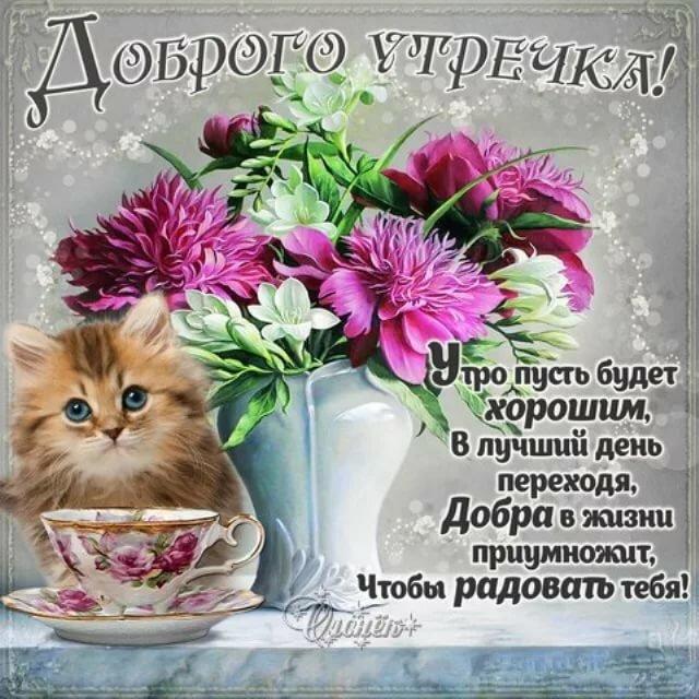 Поздравление с добрым утром открытка подругам, день рождения