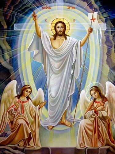 воскресение христово икона картинки