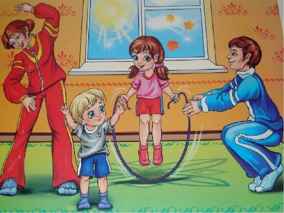 Зож в картинках для детского сада