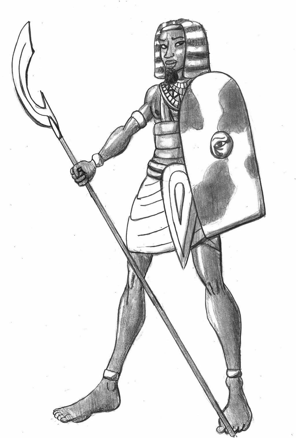 картинки египетского воина главное