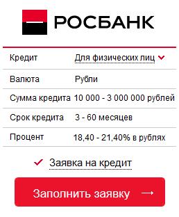 почта банк кредит под залог недвижимости калькулятор