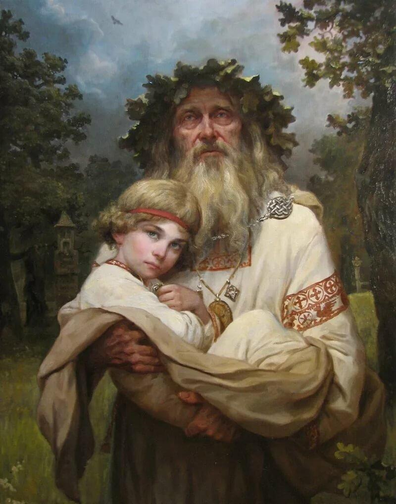 Любимому мужчине, картинки в славянской тематике