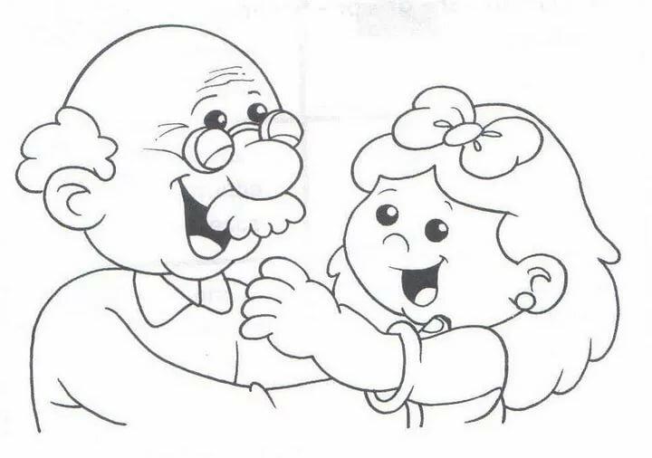 Рисунки на открытку дедушке, открытки