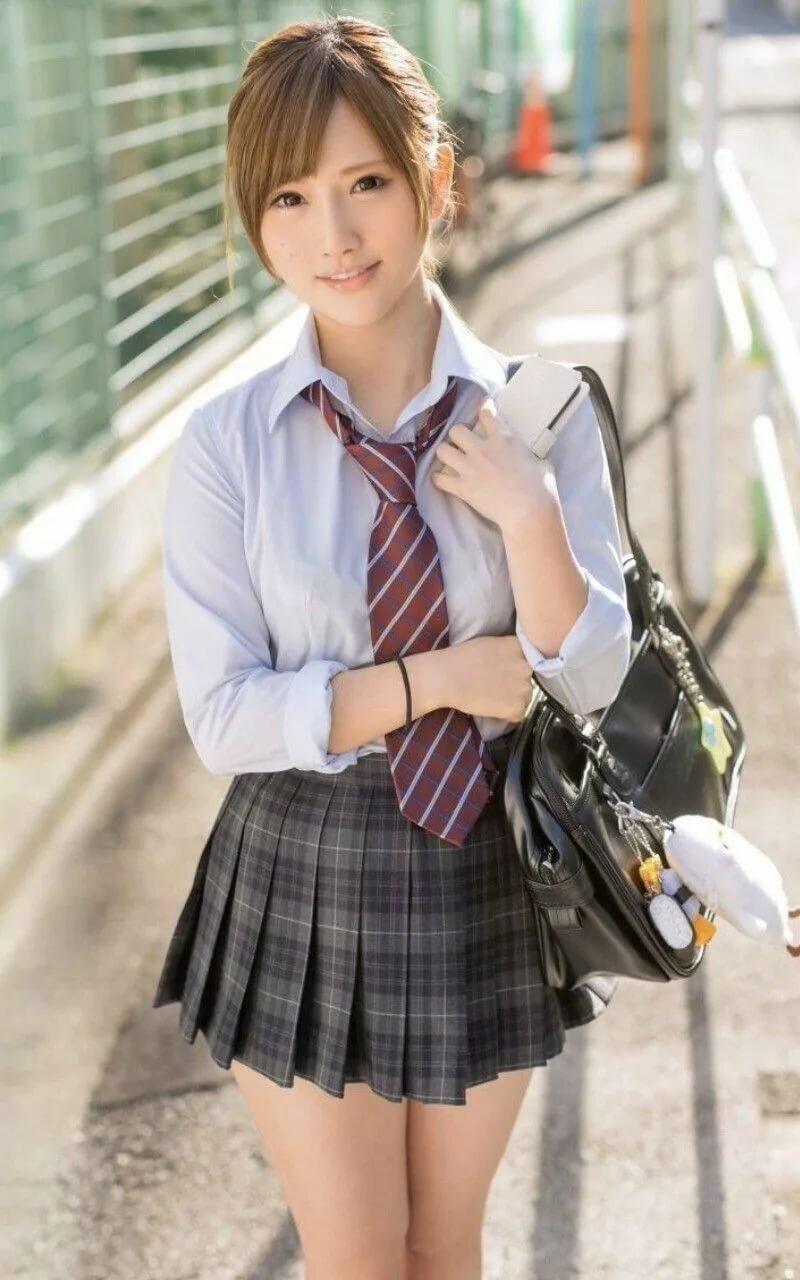 Картинки красивые японские школьницы