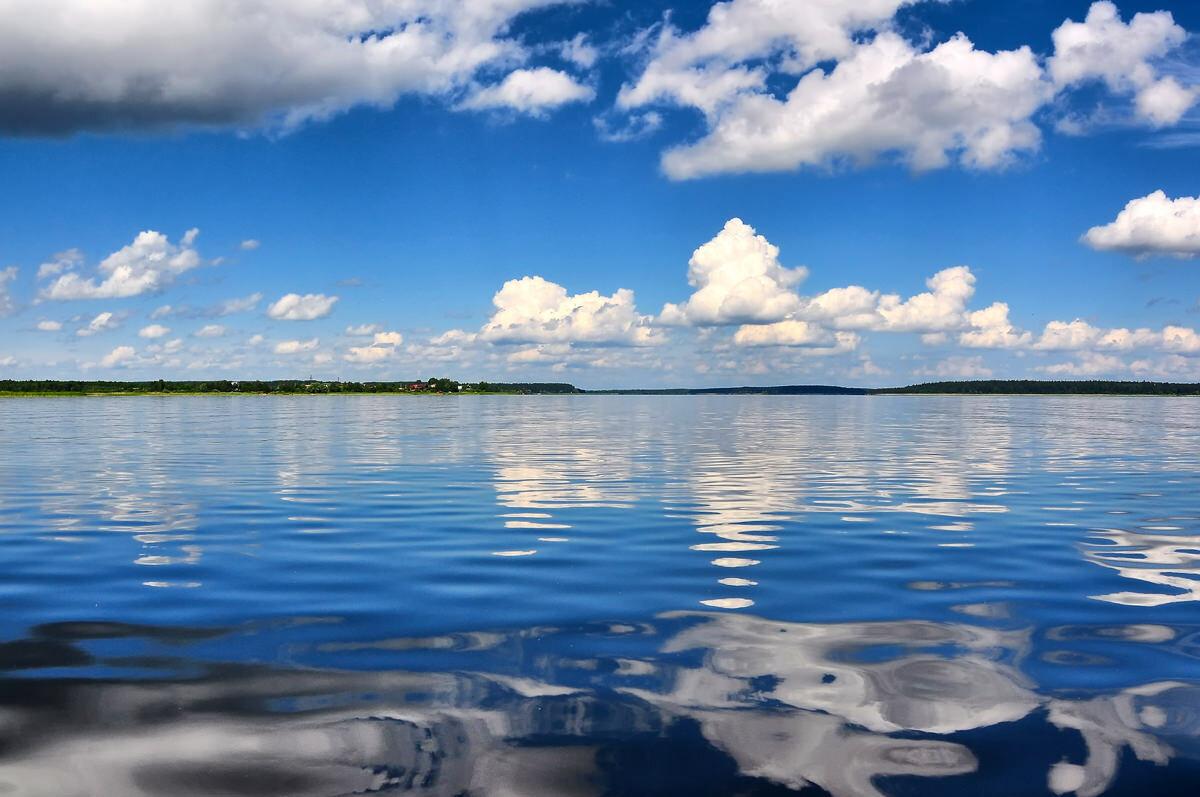 Картинка озера селигер